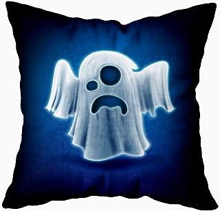 Gesmatic Sofa Pillow Case, Zipper Pillow Cases 18X18 Pillow Cover Ghost Standard Pillow Cases Sofa Pillow Covers Art Pillow Case