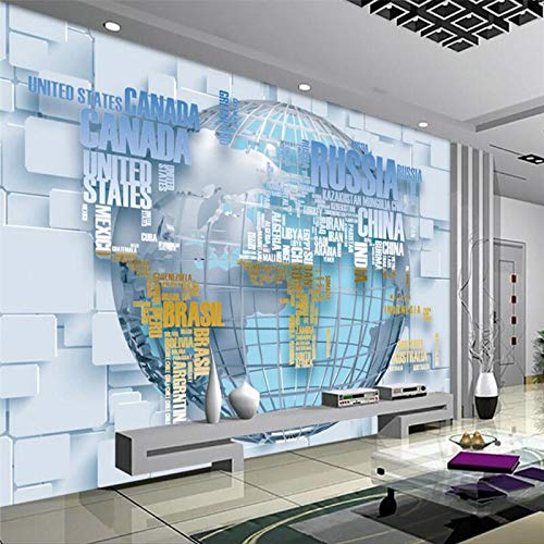 Fototapete Wandbild, englische Moda Buchstabe Karte 3D TV Hintergrund, personalisierbar mit großer Fresko Umweltseide, Tapete Papel de Parede