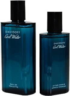 Davidoff Cool Water Gift Set for Men - Eau de Toilette 125ml, After Shave 75ml