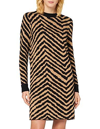BOSS Damen C_fadrella L ssiges Kleid, Open Miscellaneous960, XL EU