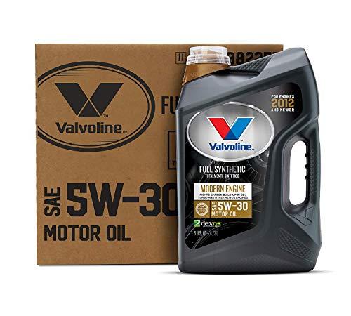 Valvoline Modern Engine SAE 5W-30 Full Synthetic Motor Oil 5 QT, Case of 3