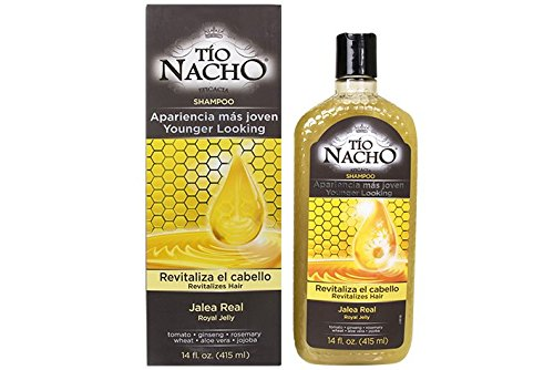 Tio Nacho Younger Looking Revitalizing Shampoo with Royal Jelly, 14 Ounces