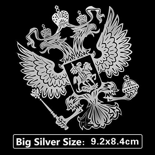 Chenyu Electronics 2018 auto intero corpo corpo modifica modifica stemma della Russia adesivi in  metallo for auto in metallo for LADA. Vesta SW.Attraverso (Color Name : Gray)