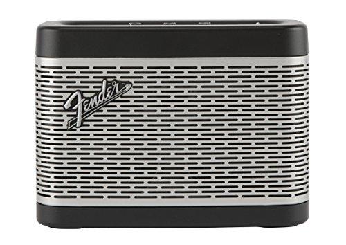 Fender Newport–Altoparlante portatile con tecnologia Bluetooth (30W di potenza, Sistema tri-driver, Porta USB, microfono integrato) colore nero