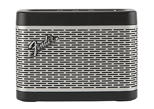 Fender Newport 30 W Mono Portable Speaker Negro, Plata - Altavoces portátiles (1.0 Canales, 30 W, Inalámbrico y alámbrico, Mono Portable Speaker, Negro, Plata, Rectángulo)