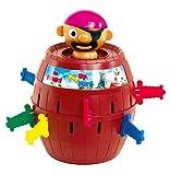 TOMY - Pic Pirate Jeux de Société pour Enfants T7028A1, Jouet Enfant 4 ans, Jeu Rigolo pour Groupes, Cadeau Anniversaire Idéal, Jeux 4 ans+