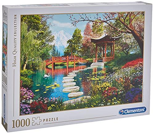 Clementoni Puzzle 1000 Piezas Fuji Garden, Color (39513.2)