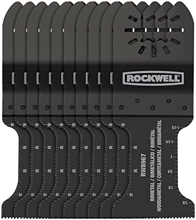 Top 10 Best rockwell oscillating tool blades grout