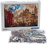 Clementoni Puzzle 1500 Piezas Vintage London, Color (31807.0)