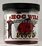 Magic Bait Catfish Hog Wild Chicken Blood Dip Bait, 10-Ounce, Red
