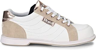 Womens Groove IV White/Nubuck/Rose Gold Bowling Shoes