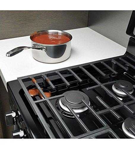 """Whirlpool WFG505M0BS 30"""" Stainless Steel Gas Sealed Burner Range"""