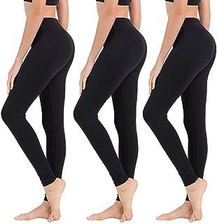 High Waisted Leggings for Women - Soft Athletic Tummy...
