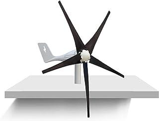 WANGYONGQI Kit de turbines éoliennes, 4000W 5 lames12V 24V 48V Énergie éolienne Petite éolienne Générateur de Turbine avec...