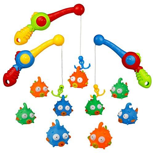 Wasser Play Centre, Strand Spielzeug-Set, Bad Toys, Kinder Angel Spiele Schwimmende Spielzeuge Mädchen Jungen Für 3 4 5 6 Jahren, 12 pcs