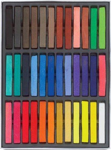 HAIRCHALKIN® 36 Farben Ungiftige Haartönung, Kalk Tönung - Weiches Pastell Salon-Kit