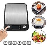 SENDERPICK Báscula digital de cocina para pesar, báscula de cocina...