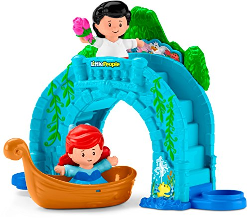 Little People Disney Princess Ariel y Eric Paseo en Bote
