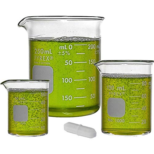 Corning Pyrex Griffin Low Form Corning Beaker Set (Set of 5)