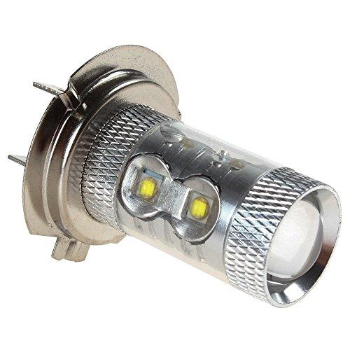 Phares de brouillard, ampoule de signalement LED Katur H7 50 W 6000 K CREE.