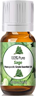 Sage Essential Oil for Diffuser & Reed Diffusers (100% Pure Essential Oil) 10ml