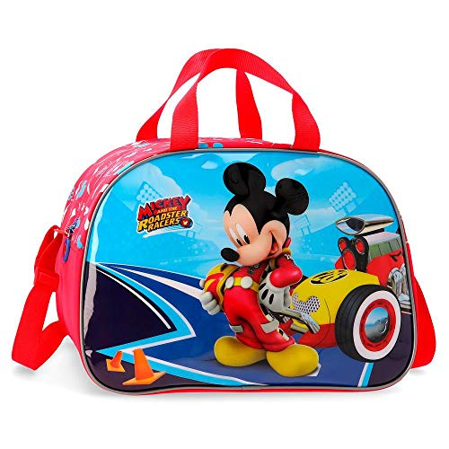 Disney Lets Roll Mickey Borsone 40 centimeters 24.64 Multicolore (Multicolor)