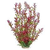 Feixunfan - Acuario decorativo para acuario (plástico de agua submarina para decoración de peces de acuario (color: pink, tamaño individual)