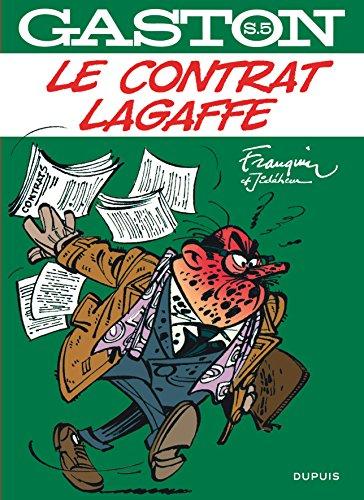 Gaston hors-série - tome 5 - Le contrat Lagaffe