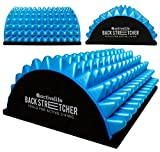 ActiveLife Lower Back Stretcher - Spine Stretcher - Back Pain Relief - Back Roller - Lower Back Support - Sciatica Pain Relief - Spinal Stenosis Pain Relief - Herniated Disc (Blue, Small)