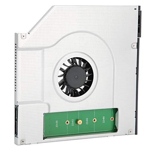 Compartimento para Disco Duro, Compartimento para Disco Duro para computadora portátil, Soporte para Disco Duro, Compartimento para Unidad óptica con Ventilador de refrigeración, para