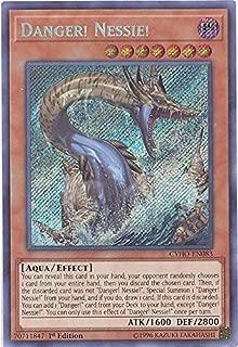 Yu-Gi-Oh! - Danger! Nessie! - CYHO-EN083 - Secret Rare - Unlimited Edition - Cybernetic Horizon