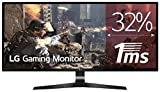 LG 29UM69G-B - Monitor Gaming UltraWide FHD de 73,7 cm (29') con panel IPS (2560 x 1080 píxeles, 21:9, 1 ms con MBR, 75Hz, FreeSync, 250 cd/m², 1000:1, sRGB 99%, DP x1, HDMI x1, USB-C x1) negro