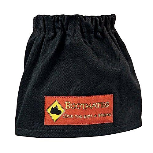 Schuh-Überzieher BOOTMATES | Schuh-Stulpen für Garten, Reiten & Wandern | Galosche kurz in Schwarz | Arbeitskleidung für Wald, Straßenbau & Handwerk