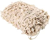 Newut Beige Greenhouse Shaining Camuflaje Net, Protección contra UV Toldos Militares de protección Solar para decoración de jardín, Caza, Camping, Cubierta de Plantas,3m*5m