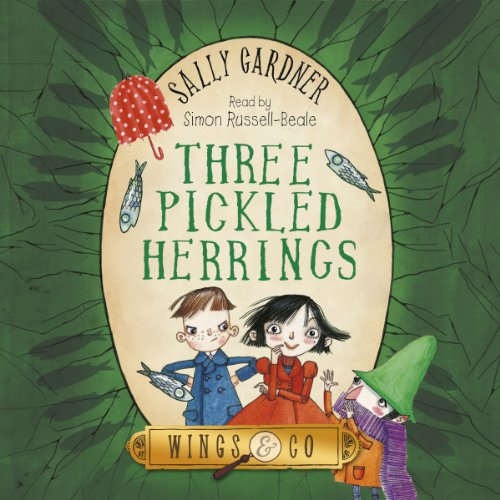Three Pickled Herrings audiobook cover art
