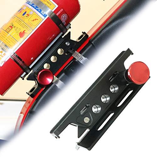 Roll Bar Fire Extinguisher Holder for Jeep, bestaoo Adjustable Fire Extinguisher Mount Replacement Fire Extinguisher Bracket for Jeep Wrangler TJ YJ JK CJ JL