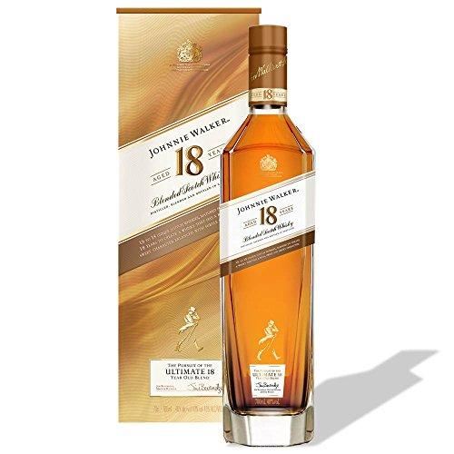 【バレンタイン ギフトに】【販売量世界No.1 スコッチウイスキー】ジョニーウォーカー 18年 [ ウイスキー イギリス 700ml ] [ギフトBox入り]