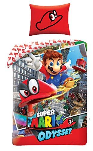 Halantex Bettwasche 140x200 +70x90 Super Mario Bros