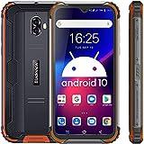 Blackview BV5900 Smartphone Ohne Vertrag Günstig LTE, 5,7 Zoll HD+ Waterdrop Bildschirm Helio A22 3GB+32GB, 13MP+5MP Kameras 5580mAh 4G Robustes Handy - NFC/Face ID/IP69K/Fingerabdruck - Orange