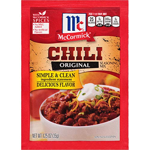 McCormick Chili Seasoning Mix, 1.25 oz