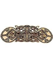 fishhook Vintage Viking Raven Crow Celtic Knot Protection Hair Clip Barrettes Regalo para Mujer