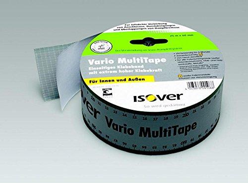 Isover Vario Multi Tape einseitiges Multifunktionales Klebeband 25 m für innen und außen