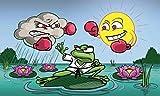 UB Fahne/Flagge Wetterfrosch Frosch 90 cm x 150 cm Neuware!!!