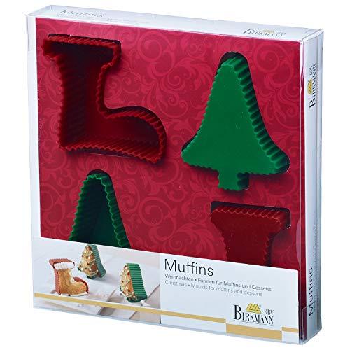Birkmann 251380 Muffinform, Weihnachten