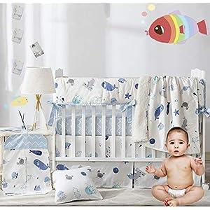 51tKwnlr78L._SS300_ Nautical Crib Bedding & Beach Crib Bedding Sets