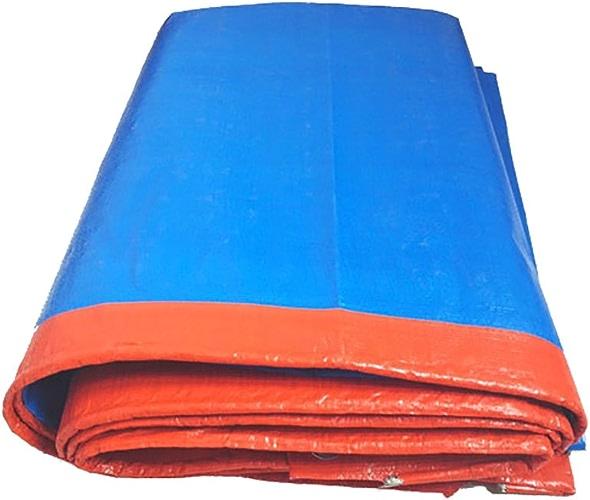 D_HOME Bache Imperméable à l'eau Couverture De Couvert De Tissu Extérieur-Orange, 180G   M2 (Taille   3  6m)