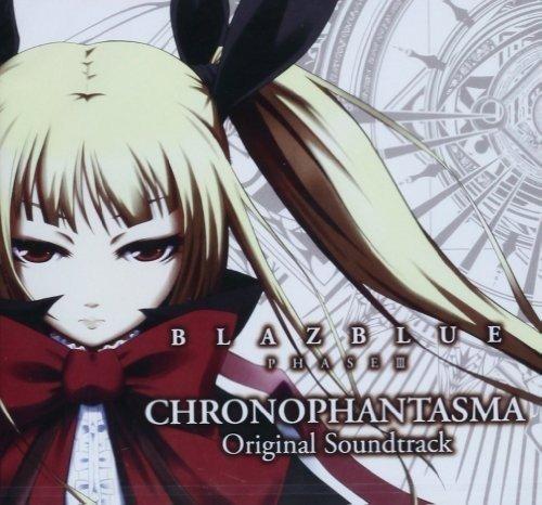 PS3 Game Blazblue Phase 3 Chronopahntasma (Original Soundtrack)