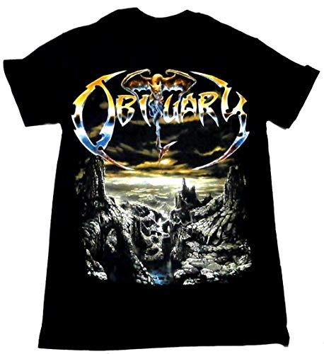 【OBITUARY】オビチュアリー オフィシャルバンドTシャツ#01 (L)