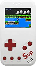 xinguo Handheld Game Console, Portable Game Console 2.5 Inch Screen with 299 Classic Games, Retro Game Console Can Play on TV, Good Gifts for Children. (White)