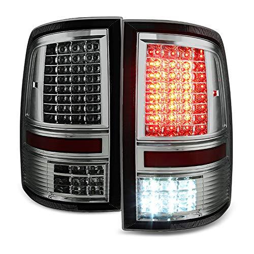 ACANII - For Smoke 2009-2018 Dodge Ram 1500 2500 3500 Pickup Full LED Tail Lights Brake Lamps